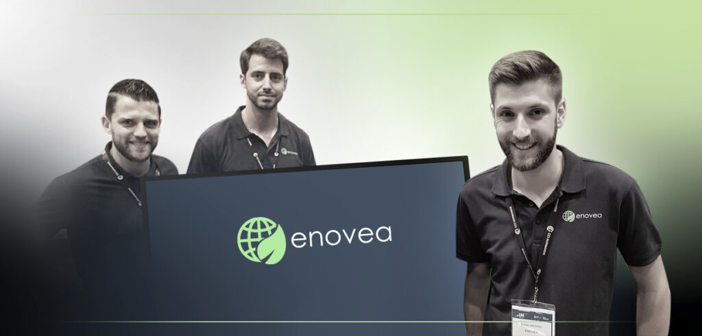 Enovea remporte un trophée de l'innovation de la Normandy French Tech à l'occasion du salon In Normandy en Mai 2018.