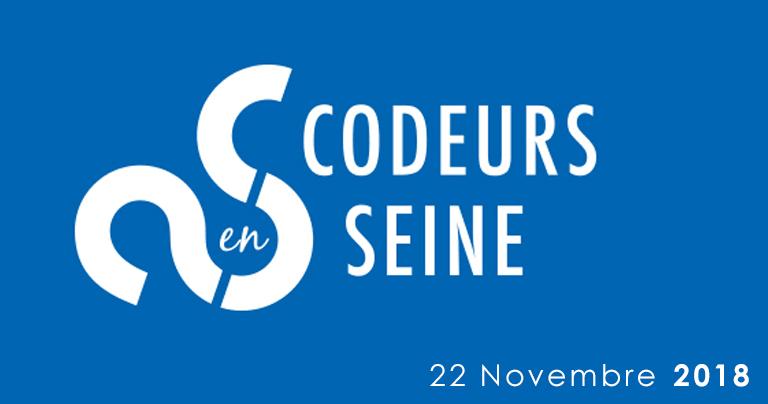 Actualité à venir d'ENOVEA - Nous serons présents lors de l'évènement CODEURS EN SEINE au Kindarena à ROUEN le 22 Novembre 2018