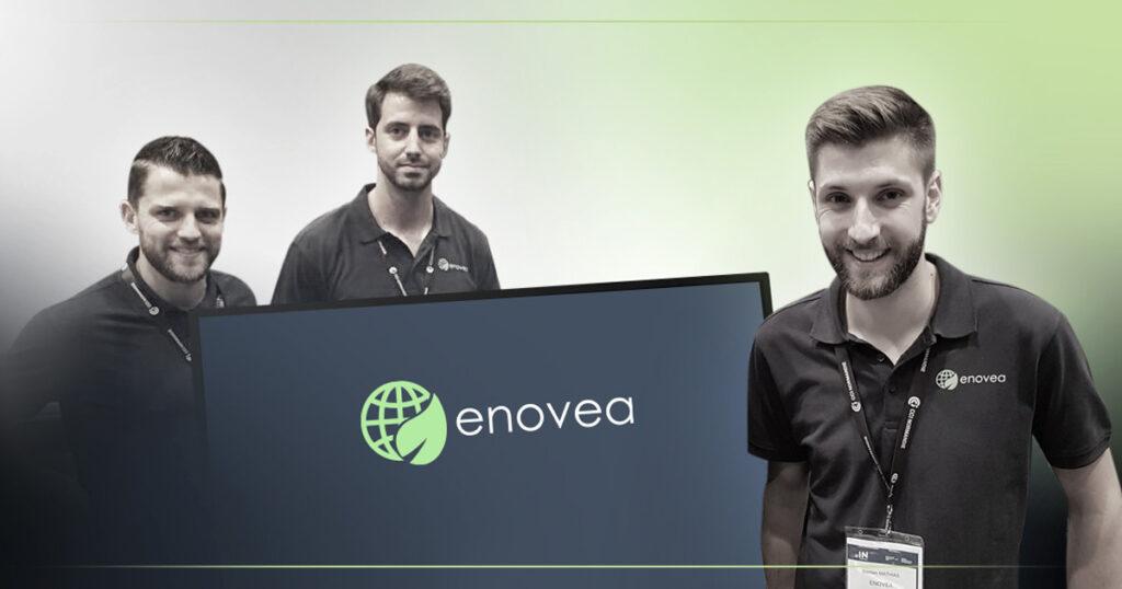 Enovea remporte un trophée de l'innovation de la Normandy French Tech à l'occasion du salon In Normandy en Mai 2018.